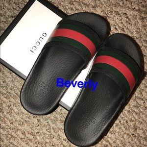 Gucci Shoes | Kids Gucci Slides Unisex